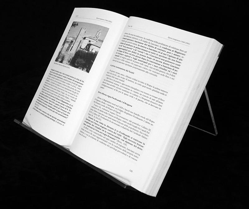 Leggio da tavolo in plexiglass trasparente - Leggio da tavolo per studiare ...