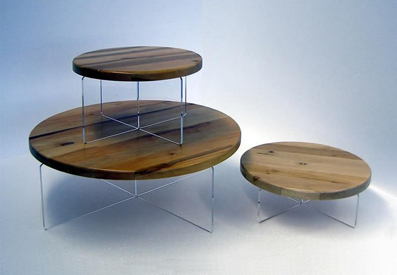 Alzatine da esposizione in legno e plexiglass per la ...