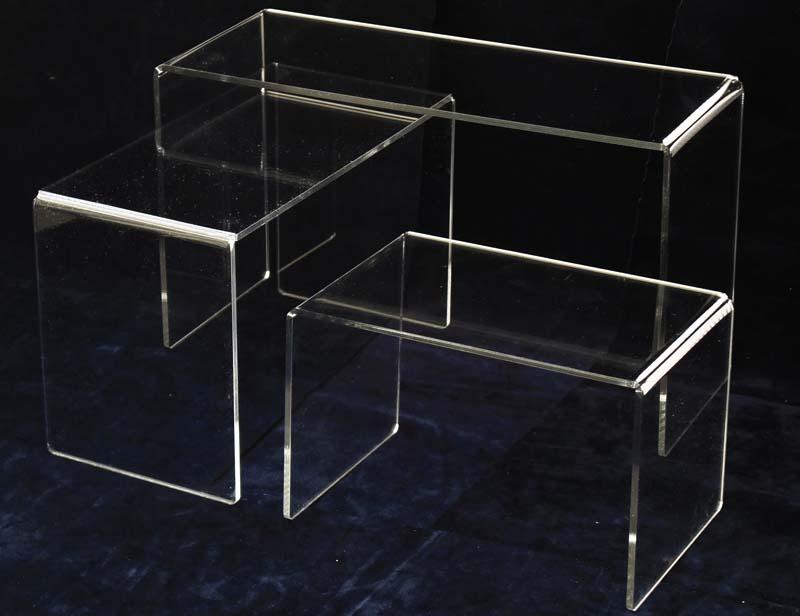 Espositiore display da vetrina in plexiglass for Cubi ikea prezzi