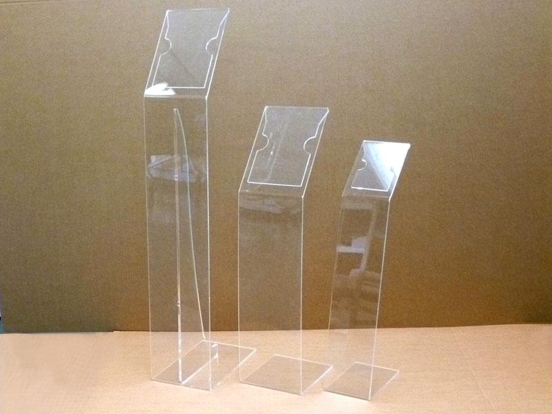 Leggio da terra in plexiglass trasparente formato a4 a5 - Leggio da tavolo per studiare ...